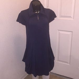 Kensie Dress Funnel Neck with drawstrings